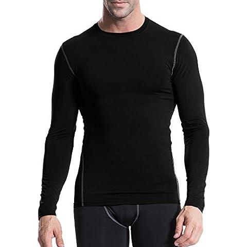 Jimmy Design Men's Long Sleeve Compression shirt Sports