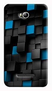 GADGETMATE Micromax Canvas Spark 3 Q385 Printed Back Cover(For Micromax Canvas Spark 3 Q385)