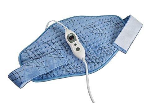 Solis Wärmegurt mit Klettverschluss, 6 Temperaturstufen, Abschaltautomatik, Sicherheitsabschaltung, Thermobelt (Tyo 235) -