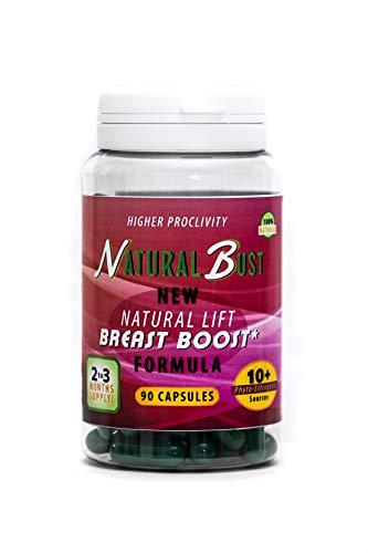Natural Breast - Brustvergrößerung Pillen, unterstützt Ihre natürliche Ebene der gesunden Hormone. Auch ideal für Frauen in den Wechseljahren, die eine Brustvergrößerung suchen. 90 Kapseln