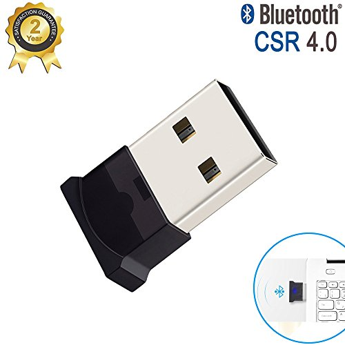 1a2f61e4e15 Airena USB Bluetooth Nano Adaptador Stick Dongle para PC con Windows 10, 8,  7