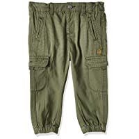 OVS Baby Boys 191TRO361-282 Trousers, Green (Rifle Green 2212), Size: 24-30