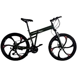 Helliot Bikes Hummer02 Bicicleta Mountain Bike-Plegable, Unisex