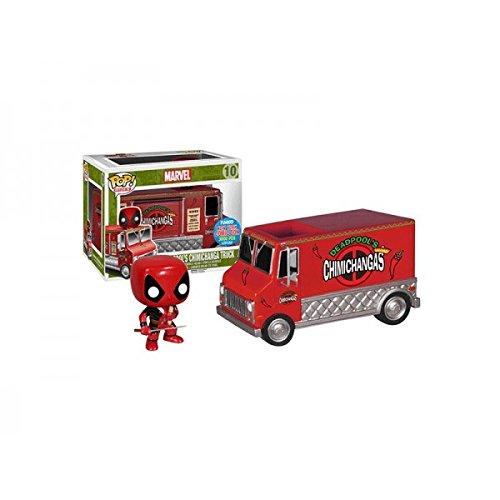 Funko - Figurine Marvel - Deadpool Red Chimichanga Truck NYCC 2015 Pop Rides - 0849803063320