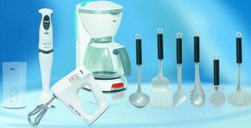 Theo Klein–Braun Toys–Küche Set Geräten und Zubehör (Küche Combo Set)