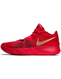 buy popular 39498 acfbd Nike Men s Kyrie Flytrap University Red Metallic Gold Basketball Shoes  (AA7071-600)