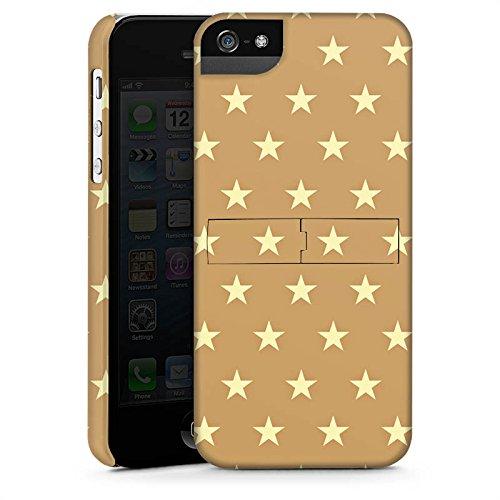Apple iPhone X Silikon Hülle Case Schutzhülle Sternchen Muster Polska Premium Case StandUp