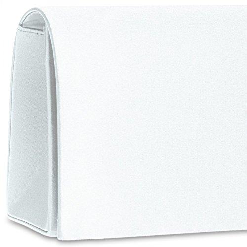 CASPAR Taschen & Accessoires, Poschette giorno donna White