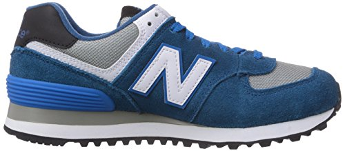 New Balance Ml574, Baskets Basses Mixte Adulte Bleu (blue Jewel/white/grey)