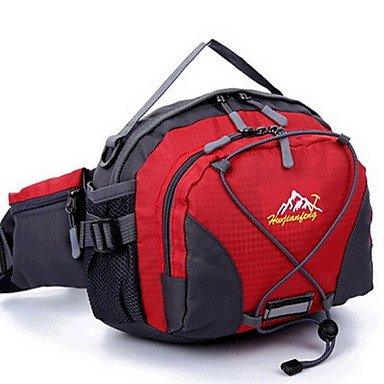 20 L Hüfttaschen Wandern Tagesrucksäcke Radfahren Rucksack Travel Duffel Freizeit Sport Camping & Wandern Reisen LaufenEingebaute fuchsia