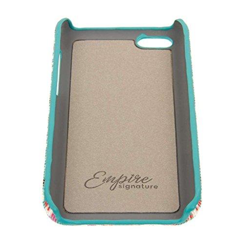 EMPIRE Signature Serie Schutzhülle für Apple iPhone 5C (Slim _ P Purple Mint Waves