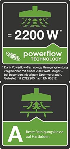 AEG UltraSilencer USALLFLOOR Staubsauger mit Beutel EEK E / 1400 Watt / Beste Reinigungsklasse auf Hartböden / 2 Düsen / inkl. Zubehör - 4