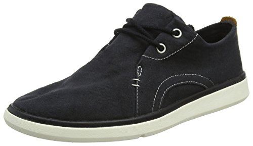 Timberland Herren Gateway Pier Canvas Sensorflex Oxfords, Schwarz (Jet Black Canvas 015), 44 EU (Timberland Canvas Schuhe)