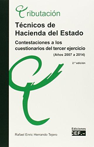 Descargar Libro Técnicos de hacienda del Estado. Contestaciones a los cuestionarios del tercer ejercicio de Rafael Enric Herrando Tejero