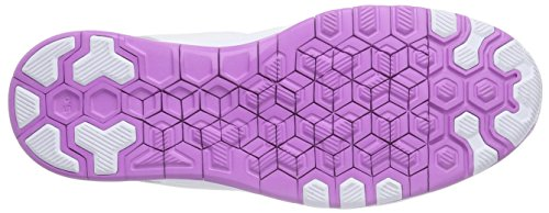 Nike Free Tr 5 Breathe, Chaussures Multisport Indoor femme Blanc - Wei (White/Soar-Wolf Grey-Grn Glow 101)