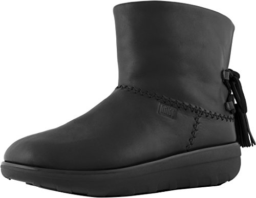 FitFlop Mukluk Shorty II With Tassels Ankle Boots All Black