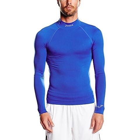 Joma Brama Classic - Camiseta térmica de manga larga para niños, color azul royal, talla 12-14
