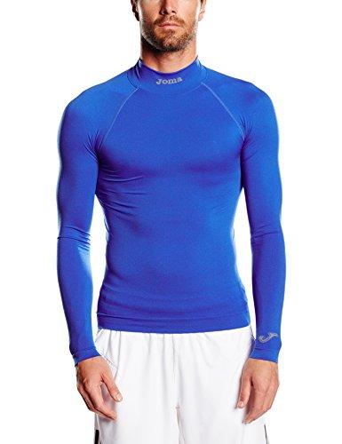 Joma Brama Classic - Camiseta térmica de manga larga para niños, color azul royal, talla 12-14...