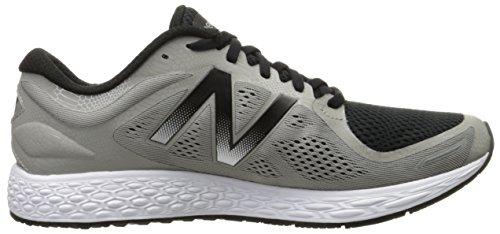 New Balance Mens Fresh Foam Zantev2 Game Running Shoe Silver / Black