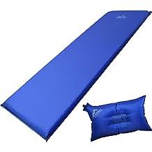 Kissen zum Outdoor Camping normani Selbstaufblasbare Luftmatratze inkl