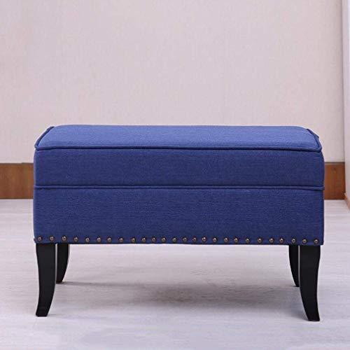 QQXX Taburete algodón sofá otomano tapizado Sala