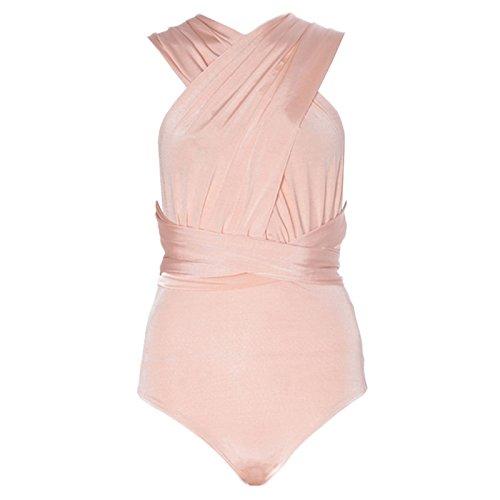 Fashion Lovers Damen Body Beige - Nude