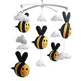 [Biene, Frühling] Säugling Musical Mobile, Kinderzimmer Mobile, Baby Mobile