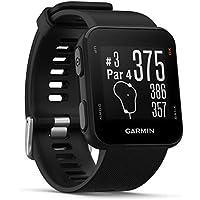 Garmin Approach S10 GPS Golfuhr – zahlreiche Golffunktionen, vorinstallierte Golfplatzkarten, simple Bedienung