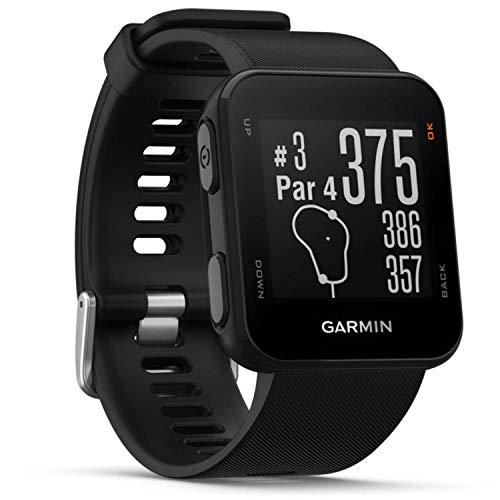 Garmin Approach S10 Black GPS Golfuhr, Schwarz,