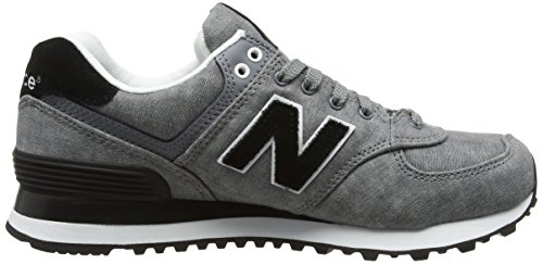 New Balance Damen 574 Textile Sneakers Grau (Grey) TuiaRv
