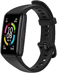 HONOR Band 6 Cardiofrequenzimetro Da Polso Uomo Donna 10 Modalità Contapassi Orologio Fitness Activity Tracker