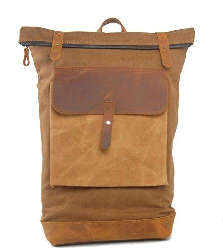Everdoss Unisexe sac à dos en toile sac de l'élève sac à dos de l'école cartable sac de voyage de loisirs