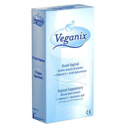 Vaginalen Juckreiz Creme (VEGANIX Vaginal-Suppositorien 10 St. für eine feuchte und gesunde Intimflora)