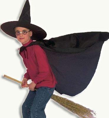 Zauberlehrling 2tlg. Kostüm Cape mit Hut Gr. - Zauberlehrling Kostüm