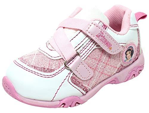 chen Sneaker Babyschuhe Kleinkinder Schuhe mit Klettverschluss Snow White rosa Glitzer Gr. 20-24 (21) ()