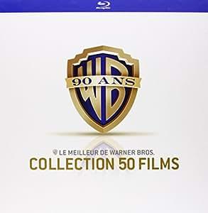 Coffret 90 ans Warner - Le meilleur de Warner Bros. - Collection 50 films [Blu-ray] [Édition Limitée]