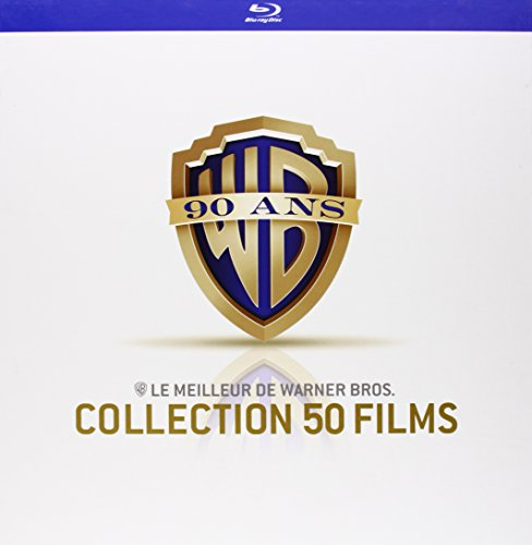 Coffret 90 ans Warner - Le meilleur de Warner Bros. - Collection 50 films [Blu-ray] [Edizione: Francia]