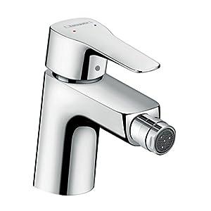 Hansgrohe 71235000–Grifo monomando de bidé mysport de lavabo cromo