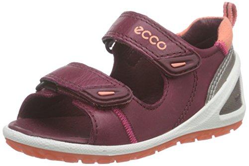 Ecco ECCO LITE INFANTS SA, Unisex Baby Lauflernschuhe Sandalen, Rot (MORILLO/CORAL59444), 22 EU (5.5 Baby UK)