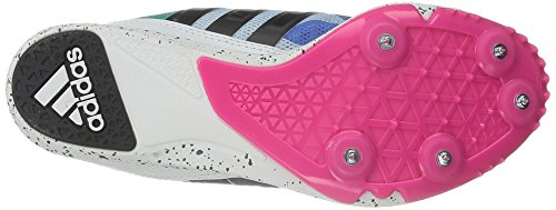 Adidas Performance Adissage 2,0 Stripes W Athletic Sandalo Black/White/Shock Pink