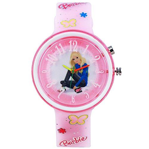 Devars H3034-LPK-BARBIE-3  Analog Watch For Girls