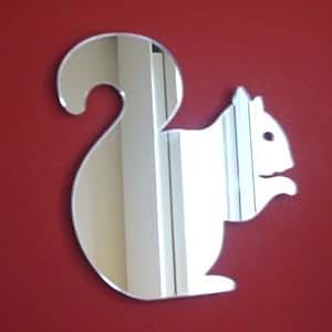 écureuil Miroir–20cm x 16cm