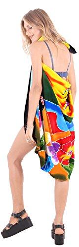 Bademode Wrap Badeanzug Pareo Rock verschleiern Badeanzug der Frauen Zeitkleidung Badebekleidung Sarong Pool Verschleiß schwarz, gelb, orange