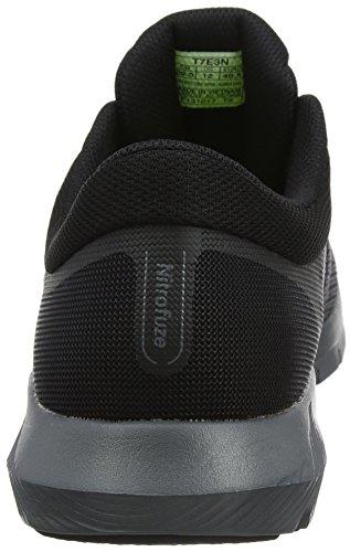 Asics Nitrofuze 2, Chaussures de Running Homme Gris (Carbonblackcarbon 9790)