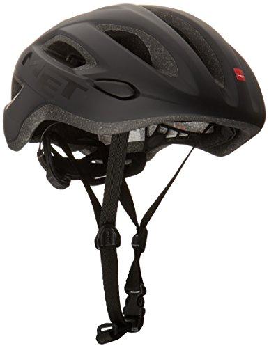 MET Idolo M 108, Casca de Bicicleta,Negro, 52-59 cm