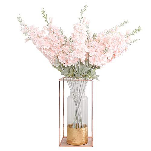 Ssowun Künstlicher Blumenstrauss 1 Stück, Blumen Bouquets Hochzeit Blume Vintage Seidenblumen Blumenstrauß für Küche Hochzeit Herzstück Garten Party Dekoration