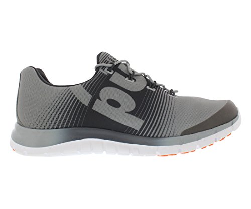 Reebok Z-pompa Fusion Scarpa da corsa Grey-Gravel-Swag Orange