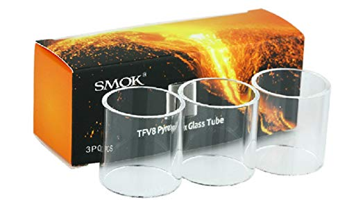 Smok TFV8 X Baby Beast Ersatzglas Glas Pyrex, 4,0 ml - 3 er Set
