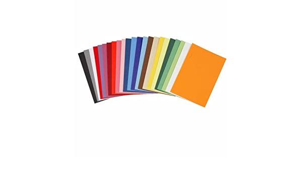 Creativ Card Farbbögen, DIN A6, 10, 5 x 15 cm, verschiedene Farben ...