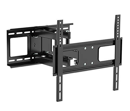 RICOO TV Wandhalterung S1544 Universal für 32-65 Zoll (ca. 81-165cm) Schwenkbar Neigbar Fernseh Halterung Wand Halter Aufhängung auch für Curved LCD und LED Fernseher | VESA 200x200 400x400 | Schwarz (Sony Led 3d Tv 60)